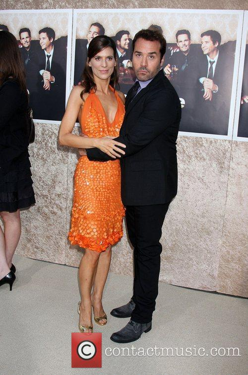 Perrey Reeves and Jeremy Piven The 'Entourage' 6th...