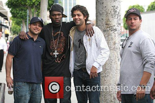 Adrian Grenier, 50 Cent, Curtis Jackson and Hbo 8