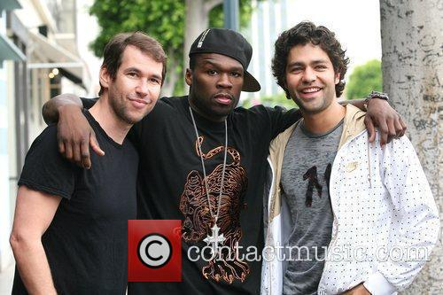 Adrian Grenier, 50 Cent, Curtis Jackson and Hbo 9