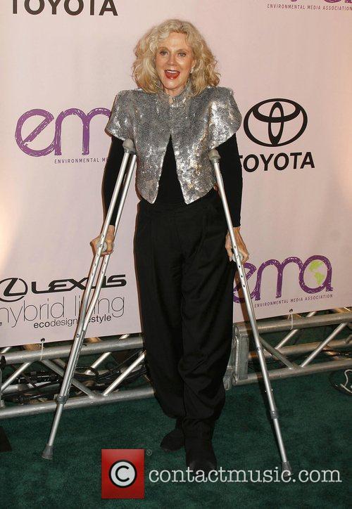 Blythe Danner 2009 Environmental Media Awards held at...