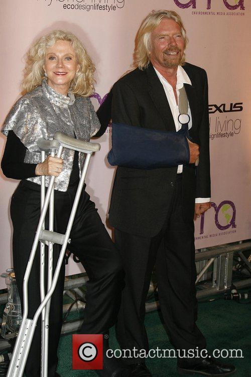 Blythe Danner and Sir Richard Branson 2009 Environmental...