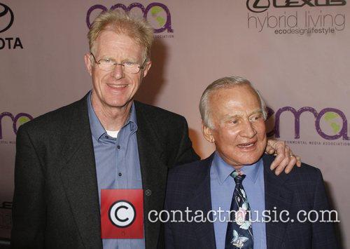 Ed Begley Jr and Buzz Aldrin 2009 Environmental...