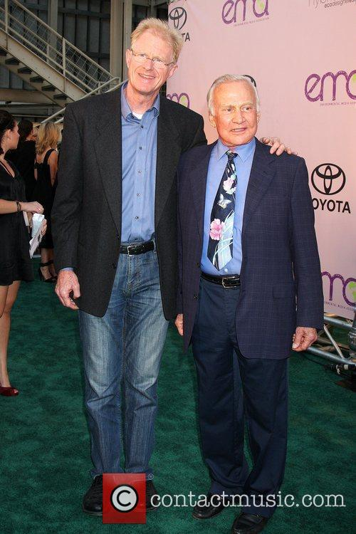 Ed Begley Jr & Buzz Aldrin 2009 Environmental...