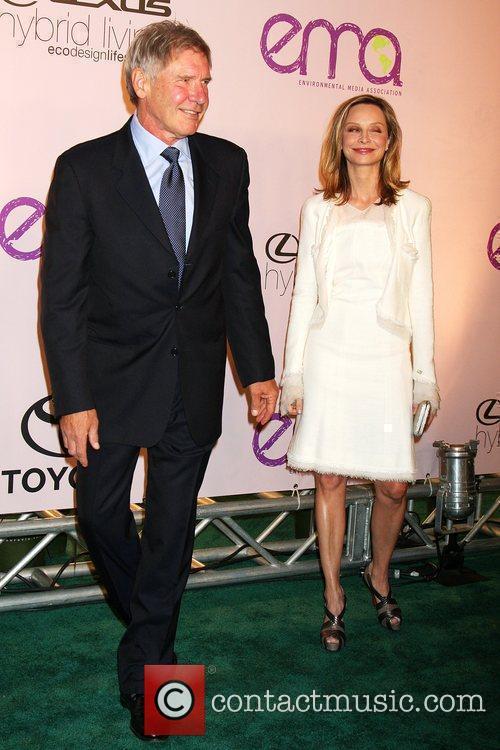 Harrison Ford & Calista Flockhart 2009 Environmental Media...