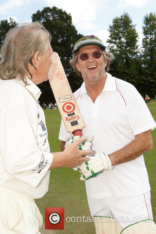 David English, Eric Clapton Bunbury charity cricket match...