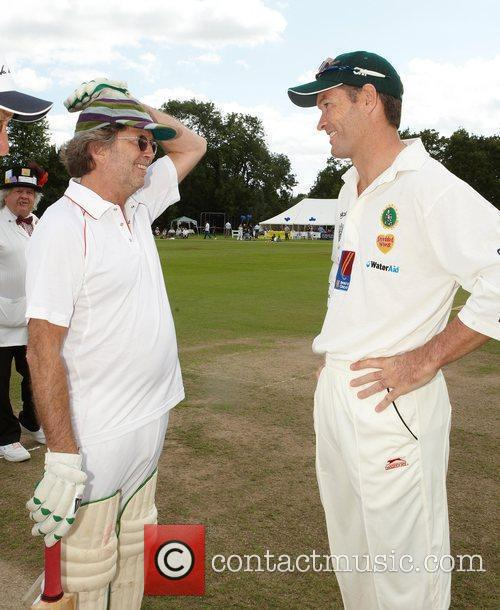 Eric Clapton and Graeme Hick 5
