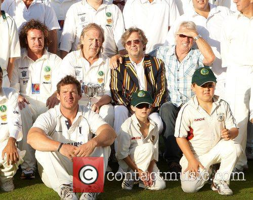 Ryan Sidebottom and Eric Clapton 5