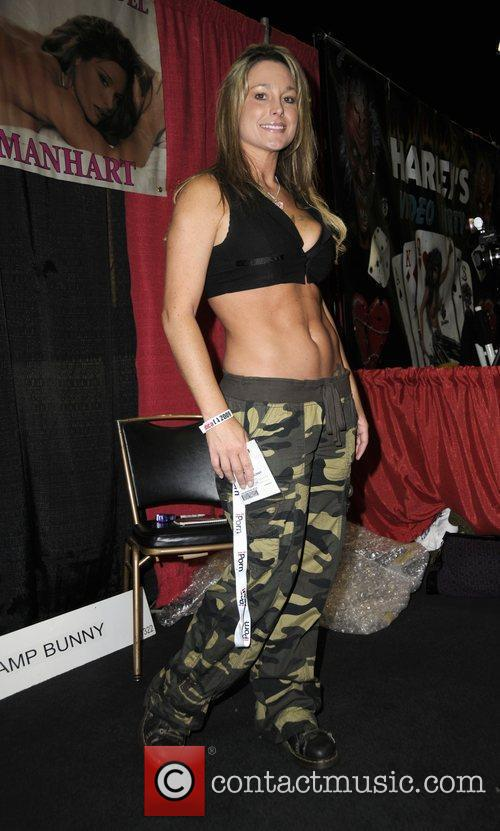 Michelle Manhart  Erotica L.A. 2009 at the...