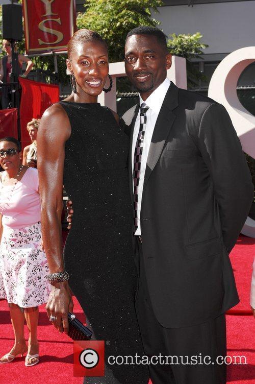 Lisa Leslie and husband Michael Lockwood The 2009...