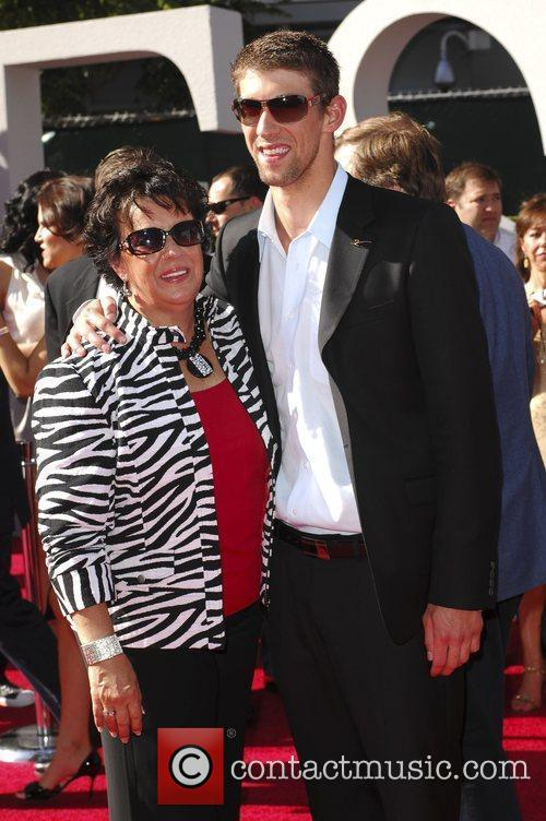 Michael Phelps and mother Deborah Phelps The 2009...