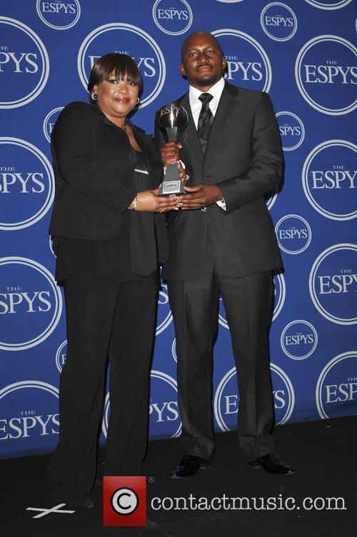 Zindzi Mandela and Zondwa Mandela The 2009 ESPY...