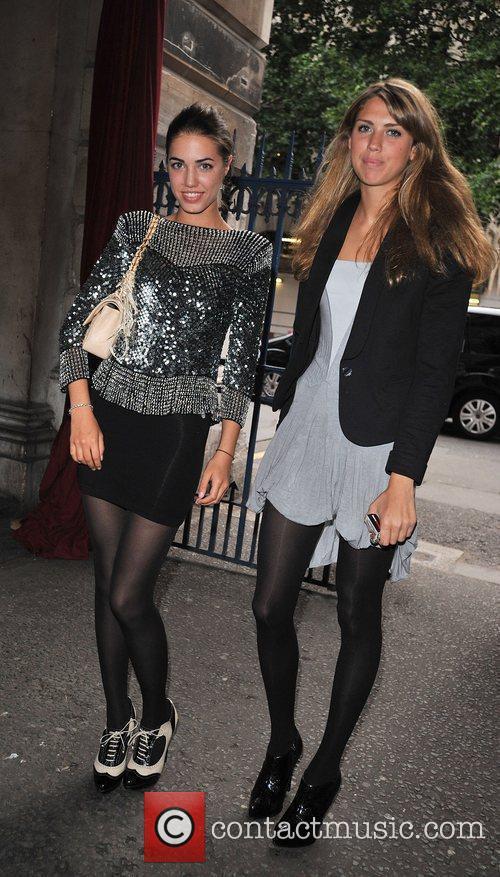 Amber Le Bon and guest Esquire's Singular Suit...