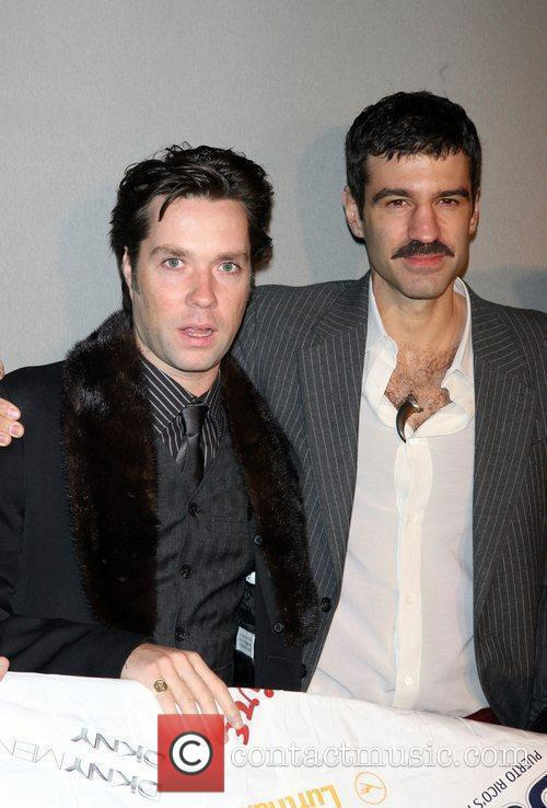 Rufus Wainwright and Jorn Weisbordt attend the 7th...