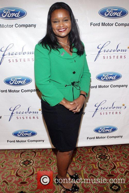 Pamela Alexander The Freedom's Sisters Luncheon at the...