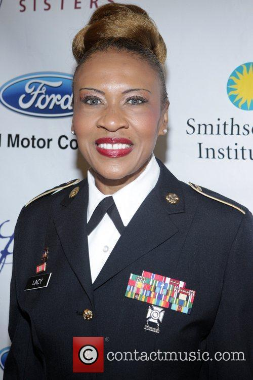Sgt. Major Lacy The Freedom's Sisters Luncheon at...