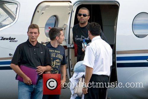 Arrives at Luis Munoz Marin International Airport with...