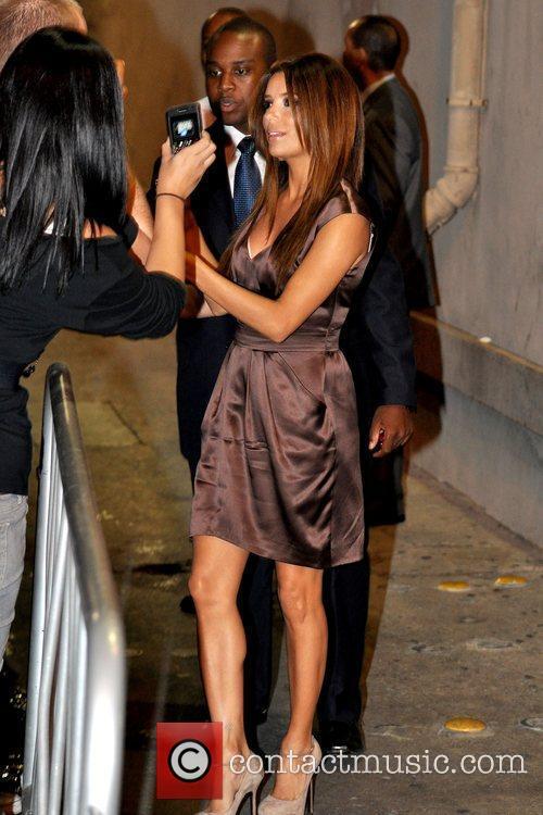 Eva Longoria and Jimmy Kimmel 2