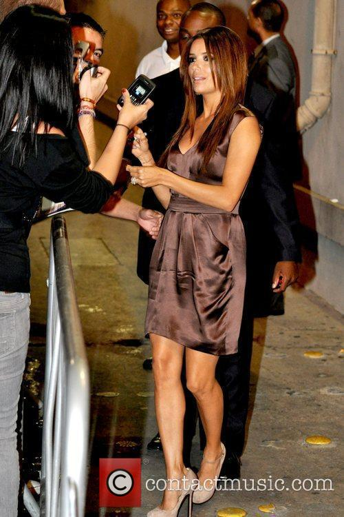 Eva Longoria and Jimmy Kimmel 3