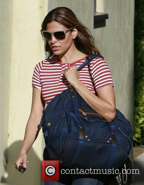 Leaving her gym in West Hollywood