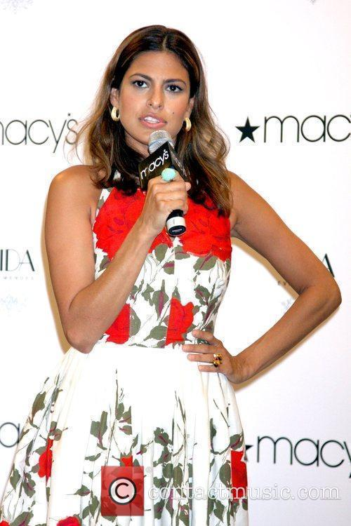 Launches Vida by Eva Mendes at Macy's Herald...