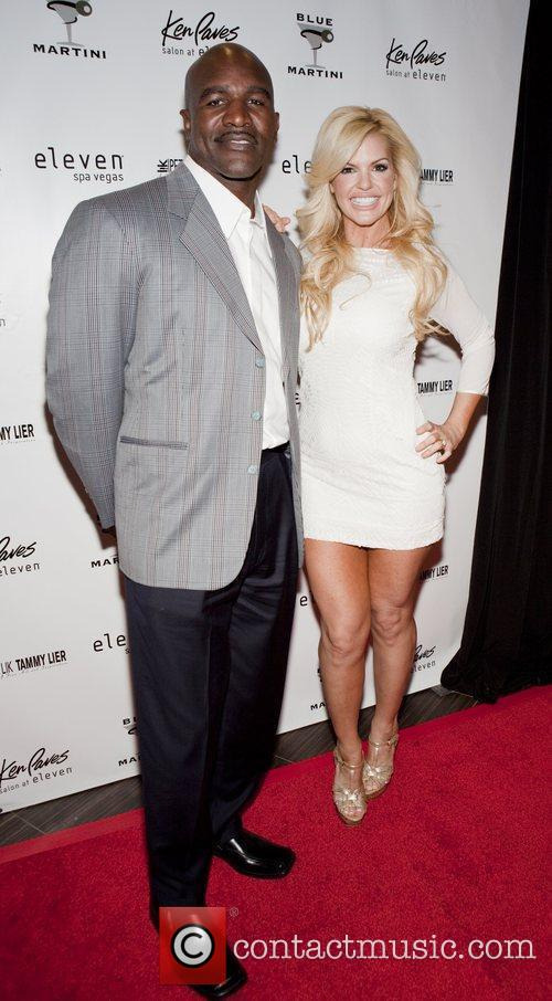 Evander Holyfield and Marley Taylor 4