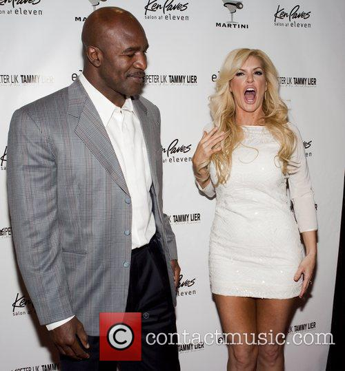 Evander Holyfield and Marley Taylor 1