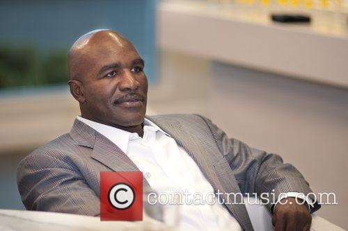 Evander Holyfield The unveiling of the Evander Holyfield...