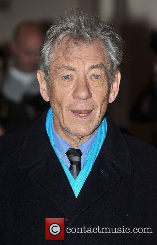 Ian McKellen London Evening Standard Theatre Awards held...