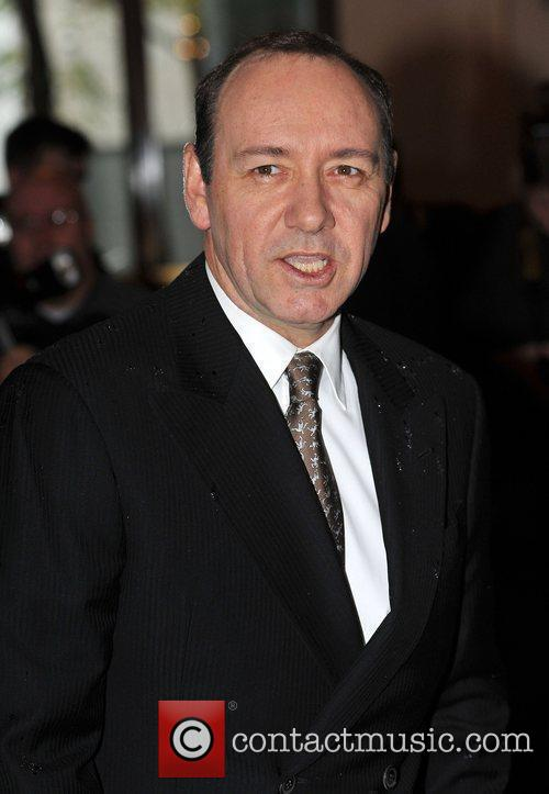 Kevin Spacey London Evening Standard Theatre Awards held...