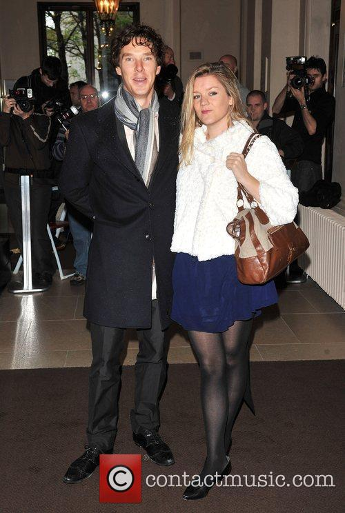 Benedict Cumberbatch London Evening Standard Theatre Awards held...