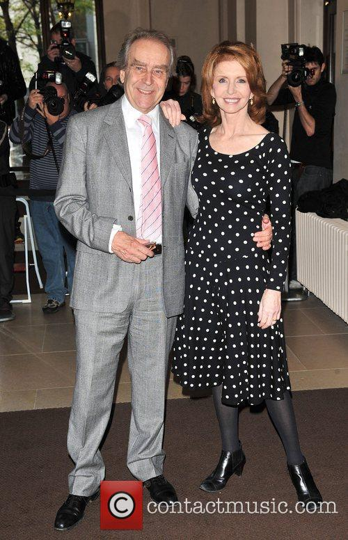 Gerald Scarfe and Jane Asher London Evening Standard...