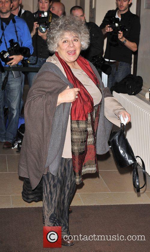 Miriam Margoyles London Evening Standard Theatre Awards held...