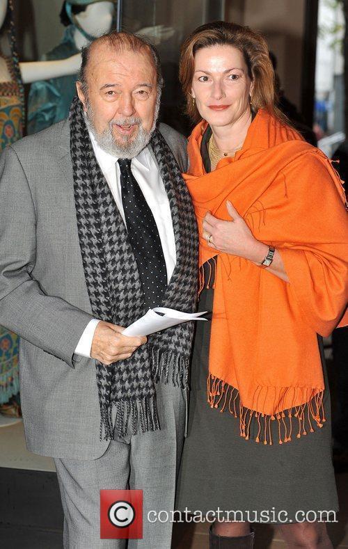 Peter Hall London Evening Standard Theatre Awards held...