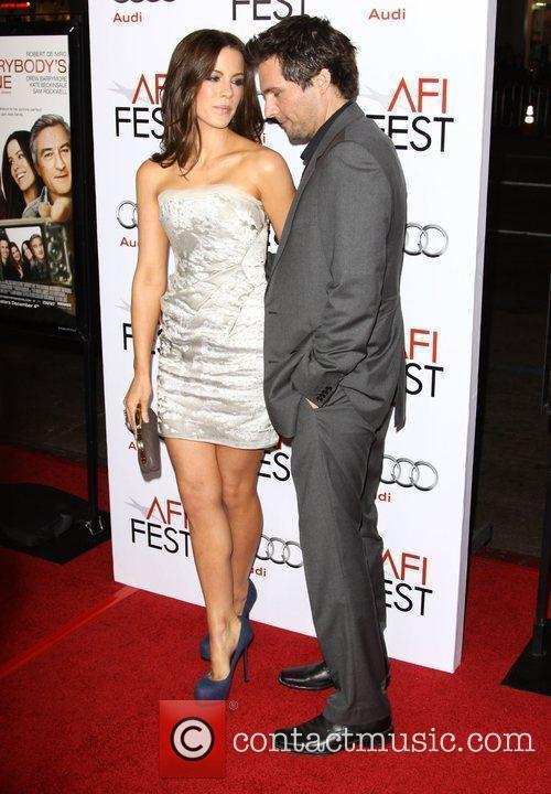 Kate Beckinsale and Len Wiseman 6
