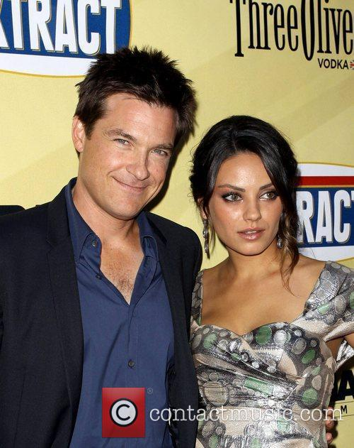 Jason Bateman and Mila Kunis