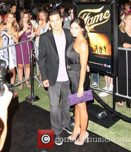 Mario Lopez and guest Special VIP screening of...