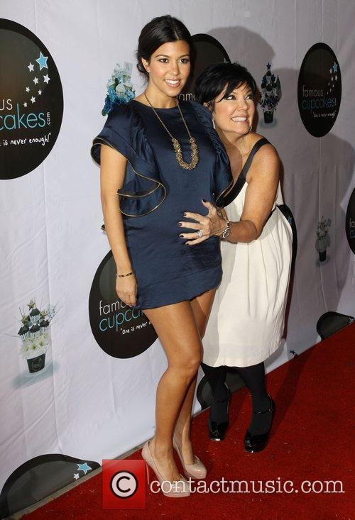 Kourtney Kardashian and Kris Jenner 3