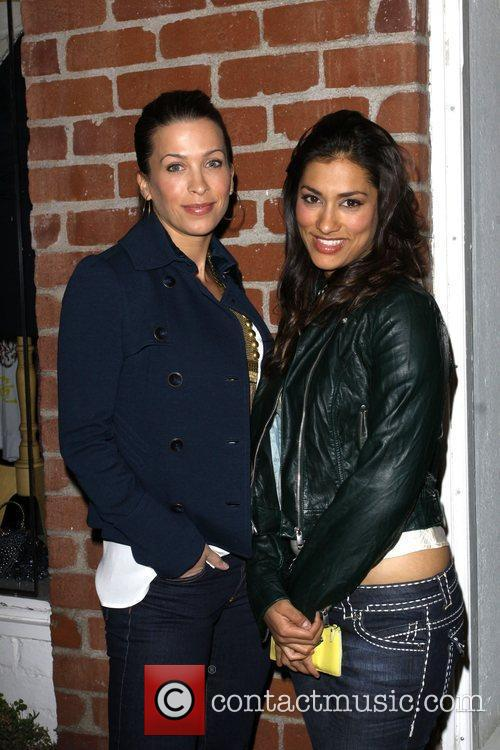 Christina Cox and Janina Gavankar