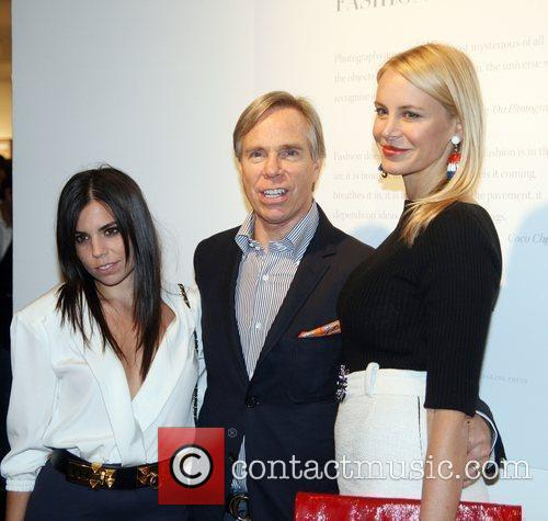 Ali Hilfiger, Tommy Hilfiger and Dee Hilfiger Launch...