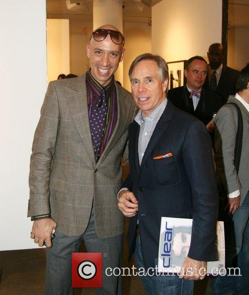 Robert Verdi and Tommy Hilfiger Launch of book...