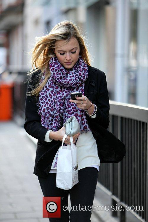 Fearne Cotton on her way to Pret A...