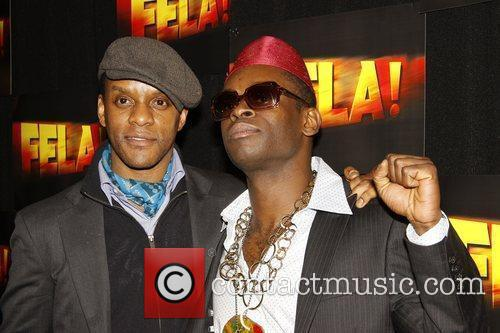 Kevin Mambo and Sahr Ngaujah Opening night after...