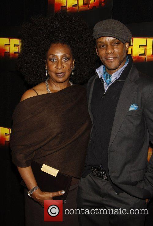 Sandra Isadore and Kevin Mambo Opening night after...