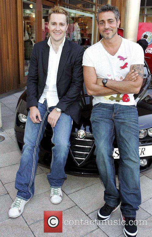 Keith Barry and Bazil Ashmawy Launch of Fiat...