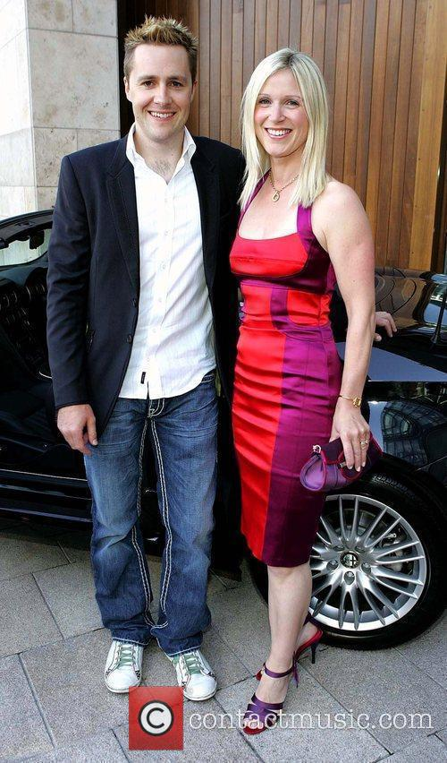 Keith Barry and his wife Mairead Barry Launch...