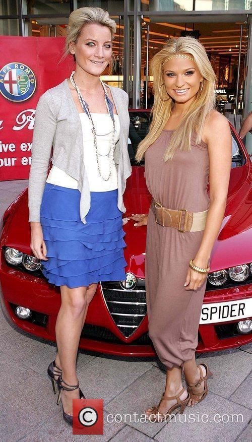Laura Toogood and Sarah Kavanagh Launch of Fiat...