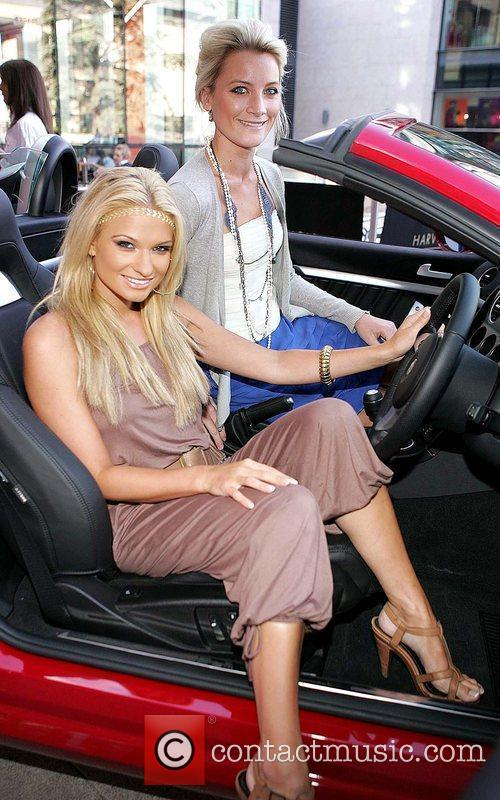 Sarah Kavanagh and Laura Toogood Launch of Fiat...