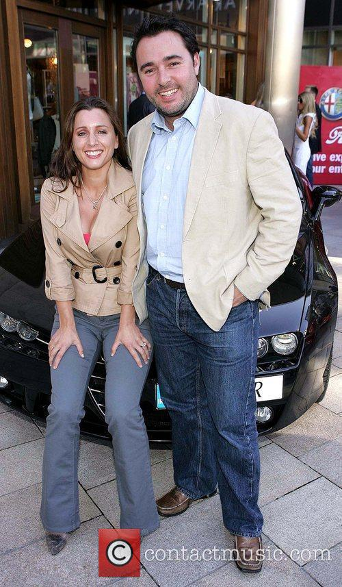 Sinead Desmond and her husband Dave Ryan Launch...