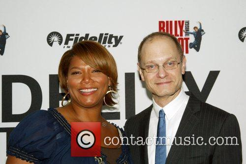 Queen Latifah and David Hyde Pierce 4