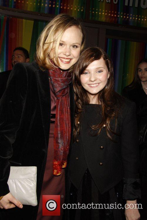 Alison Pill and Abigail Breslin Opening night of...